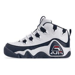 Boys' Big Kids' Fila Grant Hill 1 Basketball Shoes White/Fil