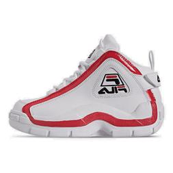 Boys' Big Kids' Fila Grant Hill 2 Basketball Shoes White/Fil