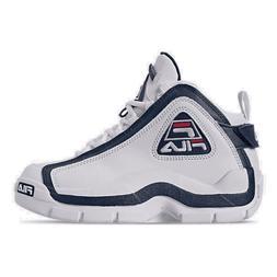 Boys' Big Kids' Fila Grant Hill 2 Basketball Shoes White/Fil