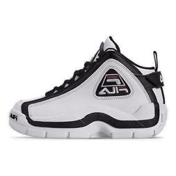 Boys' Big Kids' Fila Grant Hill 2 Basketball Shoes White/Bla