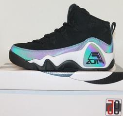 Boys Kids Junior Fila 95 Grant Hill Retro Basketball Shoes B