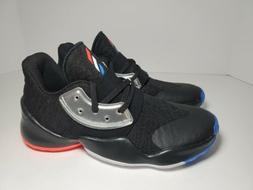 Boys Little Kids Adidas Harden Vol 4 Basketball Shoes Blk/Si