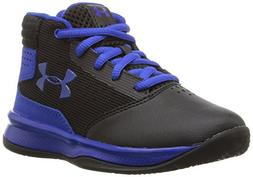 Under Armour Boys' Pre School Jet 2017 Basketball Shoe, Blac