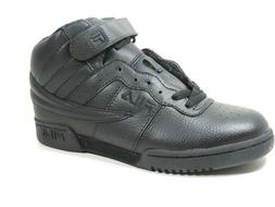 Fila Boys Shoes Basketball F-13 Leather Black High Top 31F13