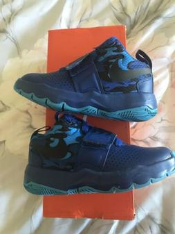Nike Boys Team Hustle 8 Basketball Sneakers Shoes Kids Youth