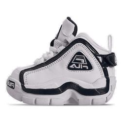 Boys' Toddler Fila Grant Hill 2 Basketball Shoes White/Fila