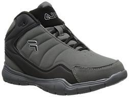 Fila Breakaway 4 Basketball Shoe , Black/Black/Black, 4.5 M