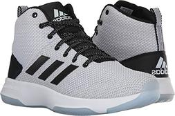adidas NEO Men's CF executor Mid Basketball-Shoes, White/Bla