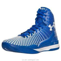 Under Armour Clutchfit Drive High Top Basketball Royal Blue