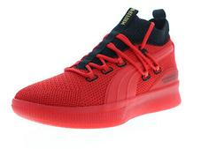 Puma Clyde Court Reform Meek 19346101 Mens Red Mid Top Athle
