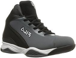Fila Men's Contingent Basketball Shoe, Castlerock/Black/Meta