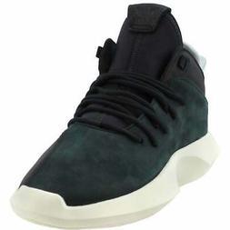 adidas Crazy 1 Adv  Athletic Basketball  Shoes - Black - Men
