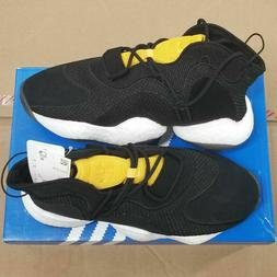 Adidas Crazy BYW Core Black Carbon Bold Gold Basketball Shoe