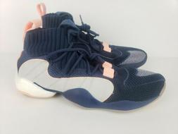 Adidas Crazy BYW X Boost Mens Basketball Shoes B42243 Navy/