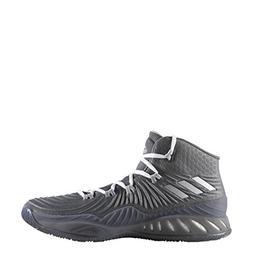 Men's Adidas Crazy Explosive 2017 Basketball Shoe Grey/Silve