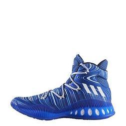 Adidas Crazy Explosive Basketball Shoe - Mens - Blue- FREE S