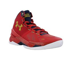 Under Armour Curry 2 Floor General Basketball Shoes Red