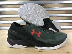Under Armour Curry 2 Low 'The Hook' Basketball Shoes Green S