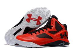 Under Armour Curry Clutchfit Drive 2 Sneakers New, Red / Bla