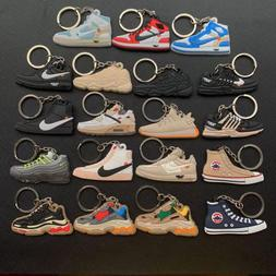 Cute Keychain Mini Jordan 1 <font><b>Shoe</b></font> Key Cha