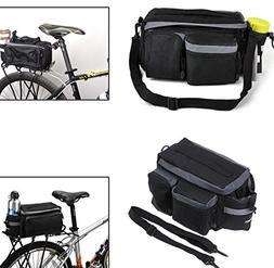 Cycling Bike Bicycle Rear Tail Seat Pannier Bag Pouch Rack T