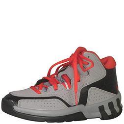 adidas Performance D Howard 6 K Basketball Shoe, Light Grey/