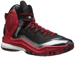 adidas Performance Men's D Rose 5 Boost Basketball Shoe, Bla