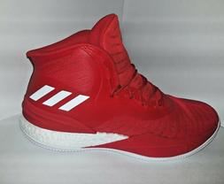 Adidas D Rose 8 Basketball Shoes Size 12.5 Red White  Derric