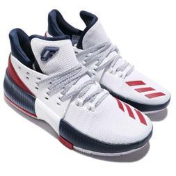 adidas Dame 3 J Damian Lillard Navy Red White Kids Basketbal