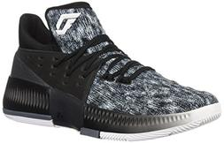 adidas Dame 3 White/Black/Onix Basketball Shoes 10