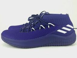 Adidas Dame 4 Basketball Shoes Purple White Damian L Mens B7