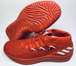 Adidas Dame 4 Lillard Scarlet Red B76013 Mens Mid Basketball