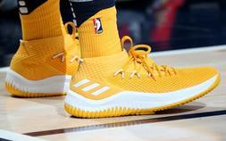 Adidas Dame 4 Men's Basketball Shoes Gold/White Damian Lilla
