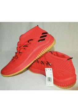 Adidas Dame 4 Men's Basketball Shoes Scarlet NIB CQ0186 Size