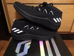 Adidas Dame 4 NBA Mens Basketball Shoes Size 14 Black White