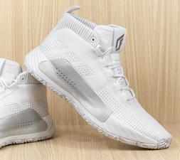 Adidas Dame 5 Basketball Shoes White Grey EE5424 Men's size