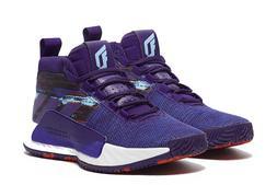 adidas Dame 5 Collegiate Purple Damian Lillard Basketball Sh