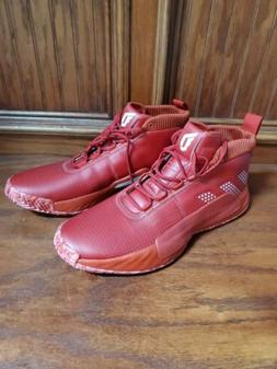 Adidas Dame 5 Mens Size 16 Basketball Shoes Red EE5433 Damia