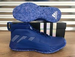 Adidas Dame 5 Team Basketball Shoes Blue White Damian Lillar