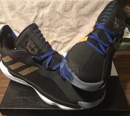 ADIDAS DAME 6 Men's Basketball Shoes, SIZE 13, Black/Gold/