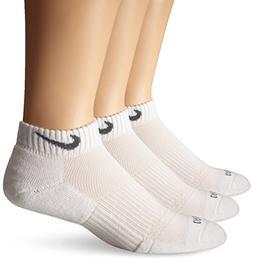 Nike Unisex Dri-FIT Cushion Low Cut 3 Pack White/Flint Grey