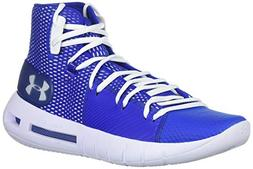 Under Armour Men's Drive 5 Basketball Shoe, Royal /White, 9.