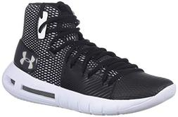 Under Armour Women's Drive 5 Basketball Shoe, Black /White,