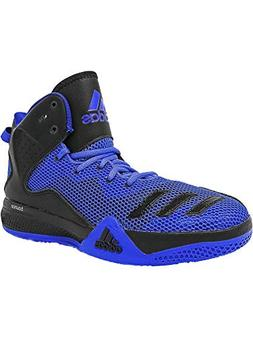 adidas Men's Dt Bball Mid Blue/Core Black Collegiate Royal A