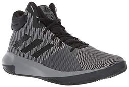 adidas Men's Pro Elevate 2018 Basketball Shoe, Black/Grey, 8