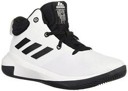 adidas Unisex Pro Elevate 2018 Basketball Shoe, Black/White,