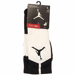Nike Elite Crew 1.5 Team Basketball Socks Small  White, Gree