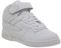 Fila F-13V Youth Sneaker Shoes Triple White 31F131LT Basketb