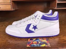 Converse Fastbreak 83 Mens Mid Top White/Purple Basketball S