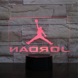 <font><b>Basketball</b></font> Michael Jordan USB 3D LED Nig